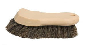Upholstery and Carpet Soft Horse Hair Brush