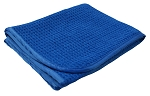 16 x 24 Blue Waffle Weave Towel 360 GSM
