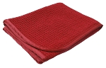 16 x 24 Red Waffle Weave Towel 360 GSM